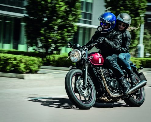 Triumph Street Twin Motorcycle Montreal