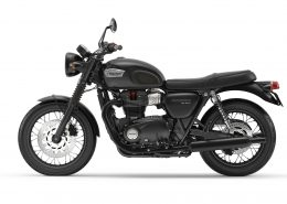 2017 Bonneville T100 Black Montreal